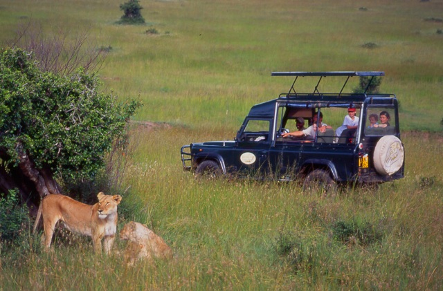 Mara Intrepids Club, Game Drive, 4 wheel drive vehicles - Heritage Hotels